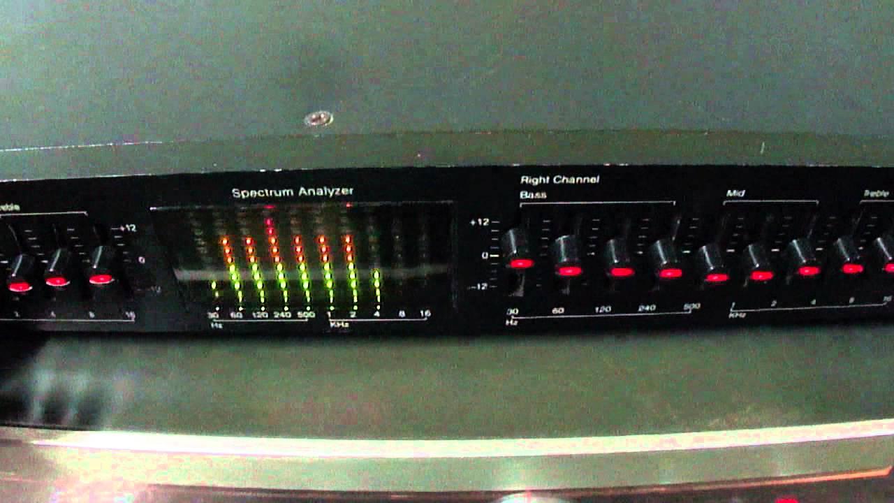 o rei do som equalizador audiosource model eq eight series ii rh youtube com AudioSource EQ C1-01 AudioSource EQ C1-01