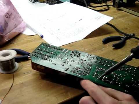 Recapping a Marantz 2275 tone amp