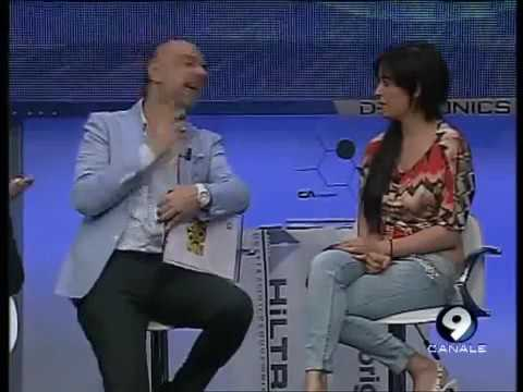 Sara Tommasi a Goal Show Canale 9 6/05/13