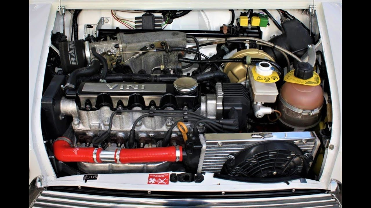 Classic Mini Vauxhall engine swap conversion build 1 6 8v C16SE