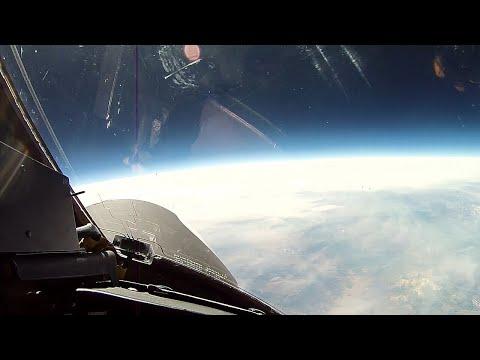 """Полет в """"космос"""" на самолете U-2 / Вид из кабины пилота"""