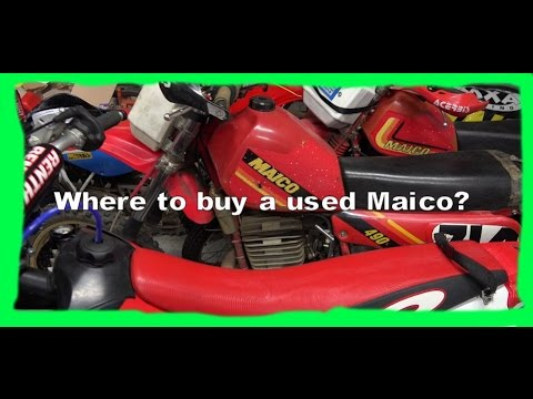 Dirtbike VLOG S1 E2: Where can I buy a used Maico?