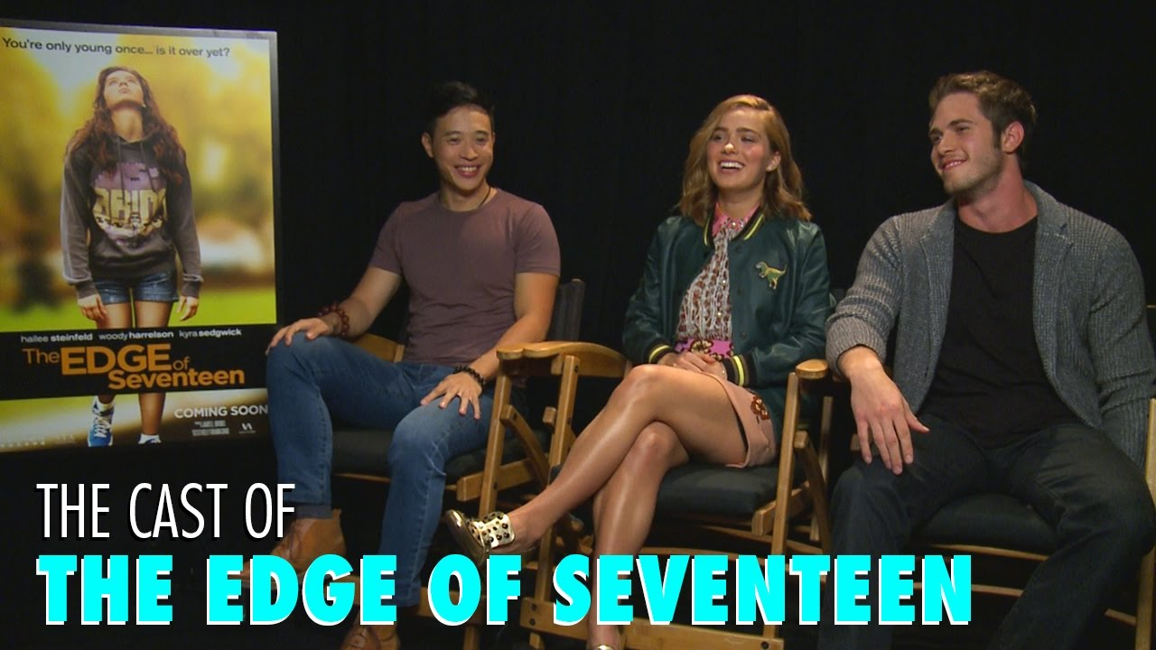The Edge Of Seventeen Cast Talk Consent What Subject Woody Harrelson Should Teach Youtube