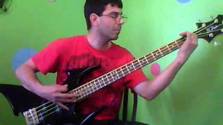 distillers love is paranoid bass cover