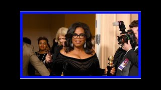 Hot News - Oprah at the Golden Globe Awards: she is running for President? She should, they say
