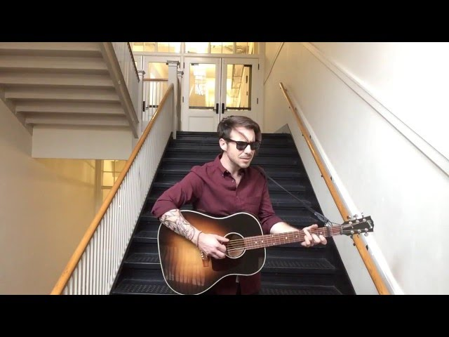 Kristopher James - Humming Hallelujah (Live from some stairwell in Portland)