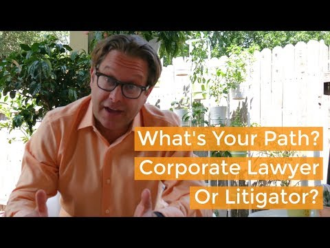 Deciding Your Career Path In Law School: Corporate Law Or Litigation? Business Law