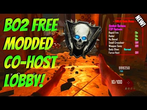 "Black Ops 2 Zombies Modded Lobby! ""FREE CO-HOST FOR EVERYONE!"" Fun ModMenu! (XBOX/PS3)"