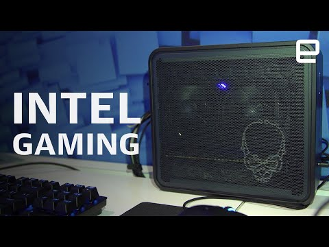 Intel gaming with Ghost Canyon NUC and Tiger Lake at CES 2020