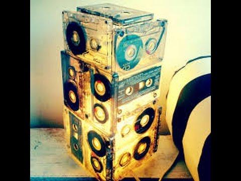 ideas creativas para reciclar cassettes youtube
