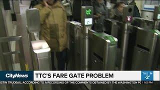 TTC suspends fare gate installation