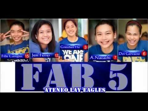 ATENEO LADY EAGLES: Thank You Fab 5!