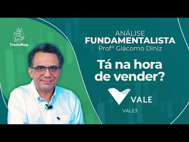 VALE3: Tá na hora de vender? // Prof. Giácomo Diniz