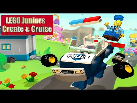 LEGO NINJAGO BUILD HELICOPTER, MONSTER TRUCK, FLYING CAR ✔ LEGO JUNIORS CREATE & CRUISE | LEGO Games