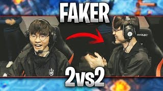 ASÍ HA SIDO el 2vs2 QUE FAKER HA JUGADO en el ALL-STAR!! | Highlights ALL-STAR 2018