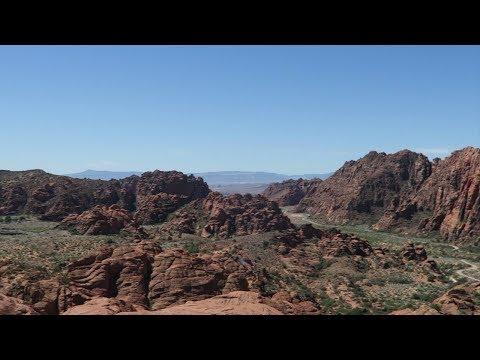 Las Vegas Vlog  Hiking Snow Canyon St  George Utah