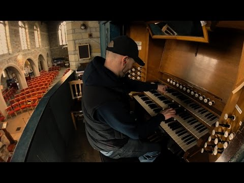 interstellar 'First Step' Hans Zimmer soundtrack - church Organ / piano cover epic