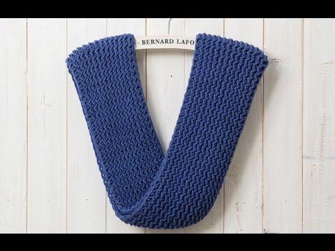 Hướng dẫn đan khăn 3#