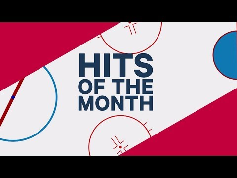 Lucic and Byfuglien dominate November's NHL Hits of the Month