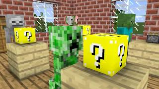 Monster School : LUCKY BLOCK CHALLENGE - Minecraft Animation