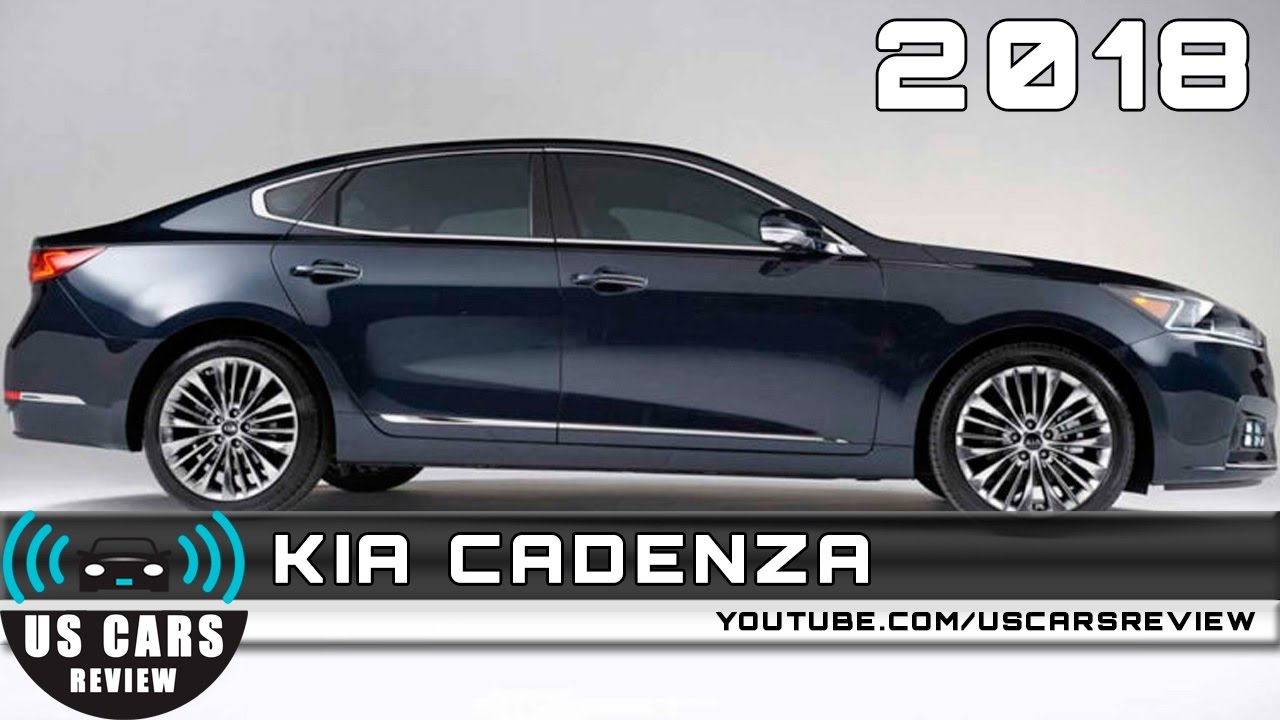2018 kia cadenza - youtube