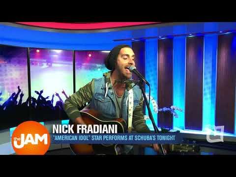 American Idol's Nick Fradiani Performs in Studio