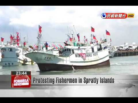 Protesting Fishermen in Spratly Islands
