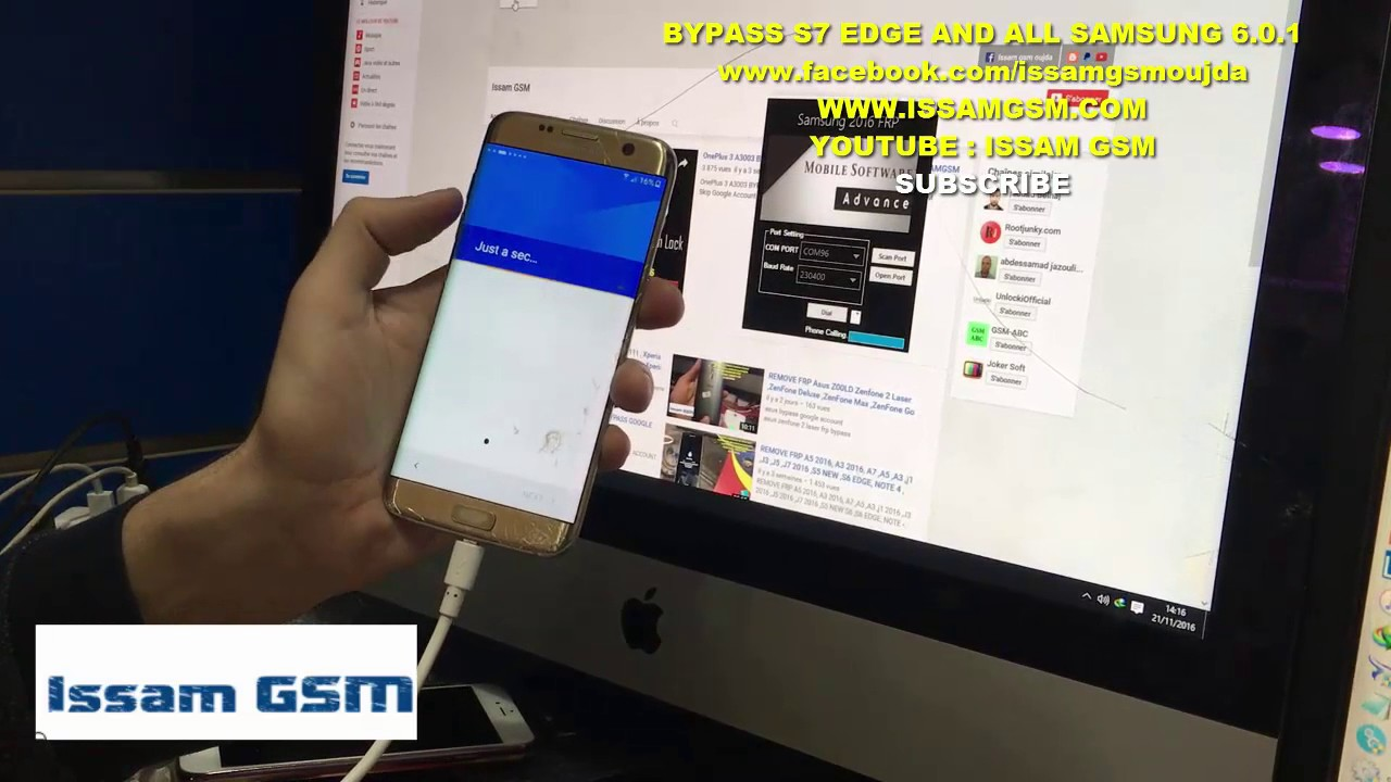 S7 EDGE 6 0 1 REMOVE FRP AND ALL NEW SAMSUNG ISSAMGSM - www