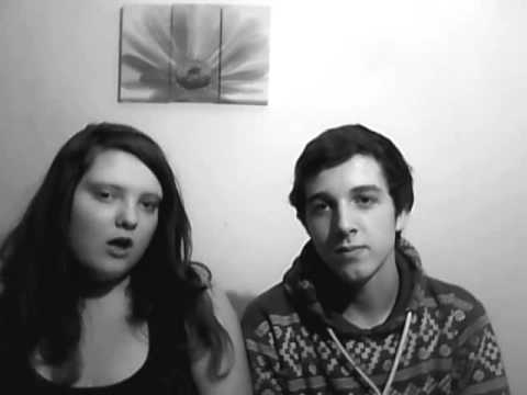 me and darren singing word up(little mix version