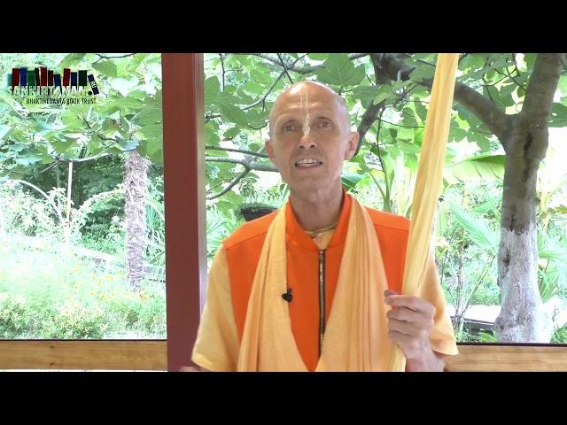 Обращение Е.С. Бхакти Ананта Кришна Госвами к марафону Шрила Прабхупады 2019