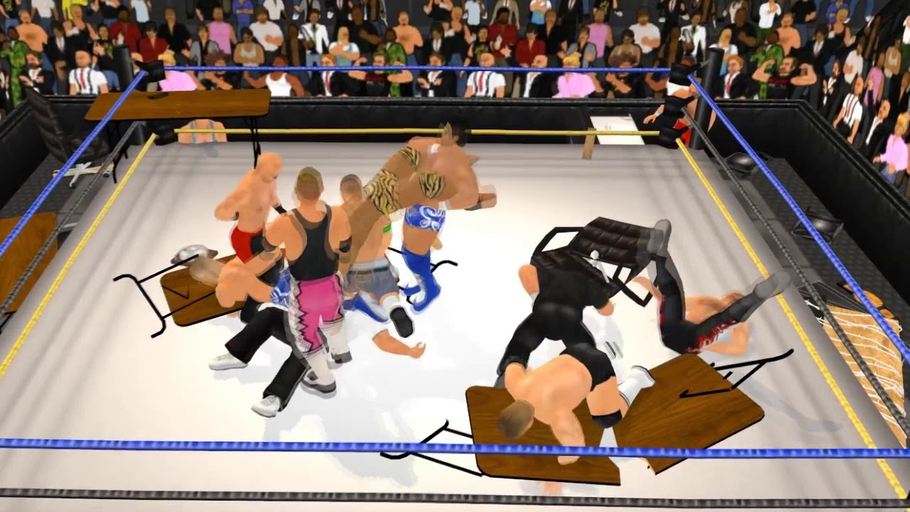 Wrestling Revolution 3d Create A Wrestler