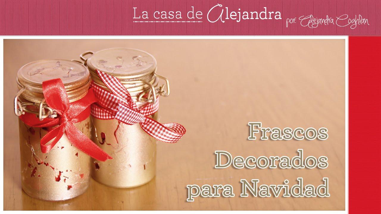 Consiente a tus amigos con estos sencillos frascos for Frascos decorados para navidad