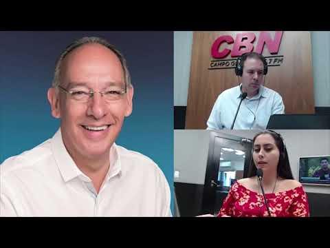 Entrevista CBN Campo Grande (31/03/2020) - Helio Peluffo, prefeito de Ponta Porã