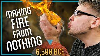 Making a Fire fŗom Scratch