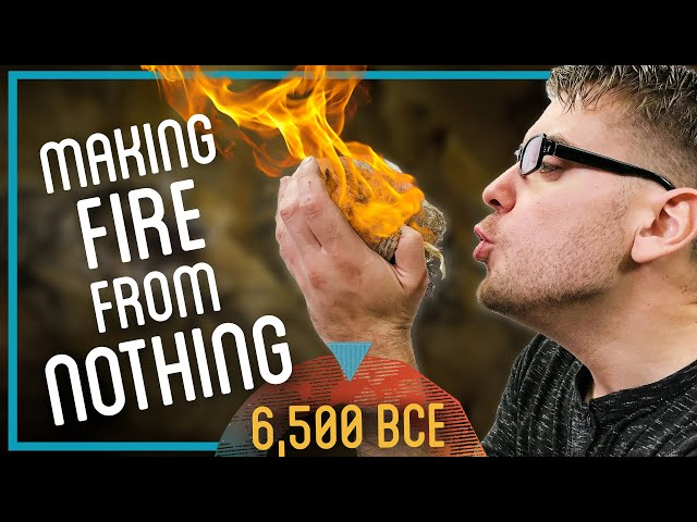 Making a Fire from Scratch