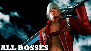 Devil May Cry 3 SE - All Bosses (With Cutscenes) HD