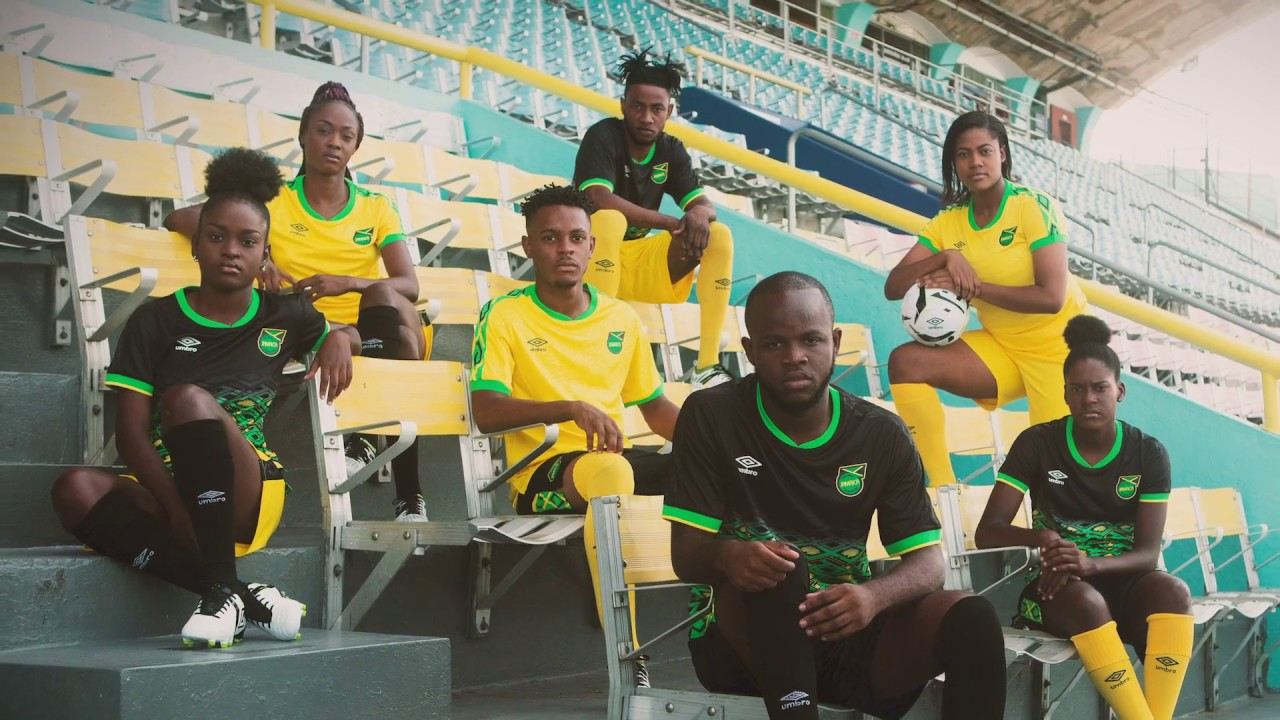 8619e6bda We Are The One: new Jamaica Home and Away kits revealed! - Global