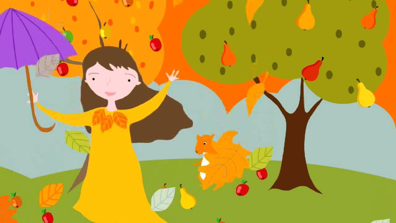 Jesien  piosenka dla dzieci  YouTube -> Kuchnia Dla Dzieci Kinderkraft