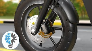 오토바이 브레이크 이해하기 | 디스크 브레이크