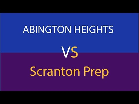 Abington Heights Varsity Basketball Team Plays Scranton Prep LIVE!