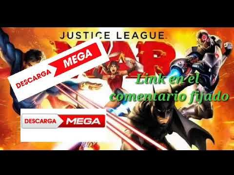 Download Justice league: war descargar pelicula en español latino por Mega