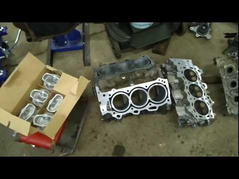 Проект ремонт двигателя Тойота хайлендер