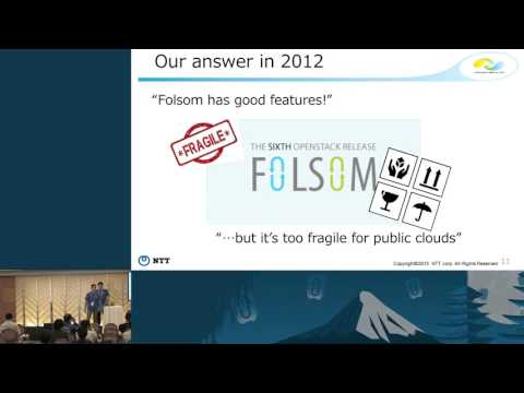 NTT's Journey With OpenStack