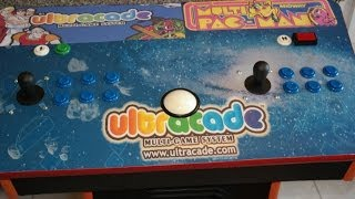 Ultracade 240 Game 2 Player With Trackball Pedestal Arcade