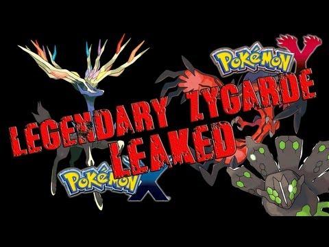 Pokemon X And Y - Legendary Pokemon Z - Zygarde LEAKED (SPOILERS)