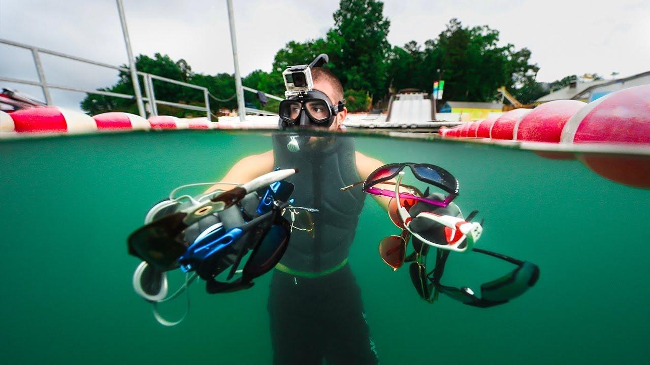 exploring-closed-waterpark-for-lost-treasure-water-slide