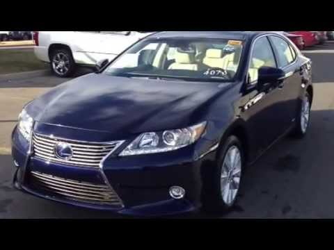 2014 lexus es 300h hybrid review edmonton youtube. Black Bedroom Furniture Sets. Home Design Ideas