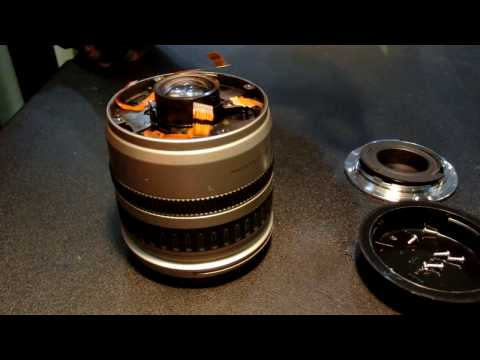 disassemble Canon 24-85