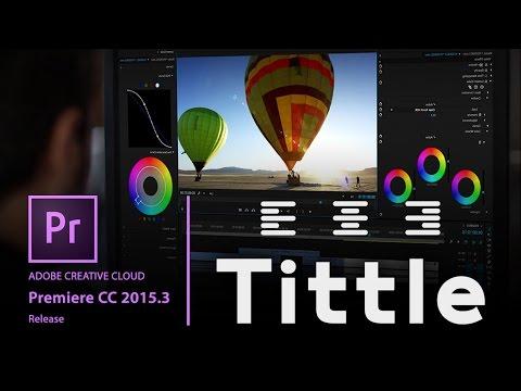 Adobe Premiere CC Tutorials - Advanced