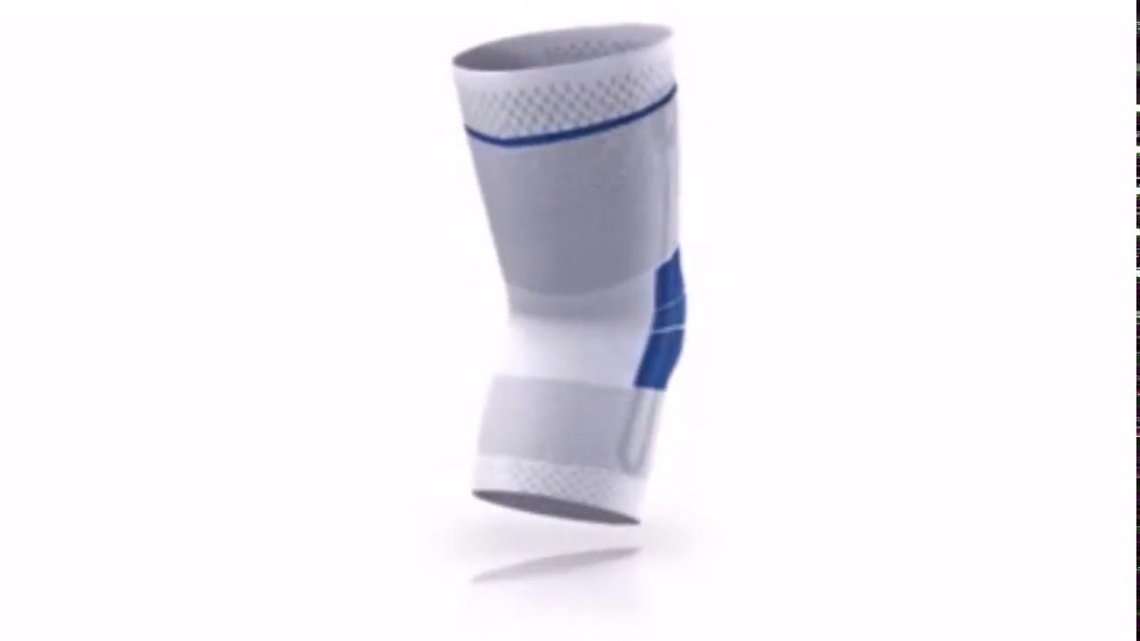 4ee99c428e Bauerfeind GenuTrain Knee Support - YouTube